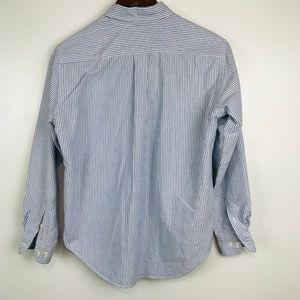 Lauren Ralph Lauren Tops - Ralph Lauren Shirt Cotton Striped Crest Logo Top